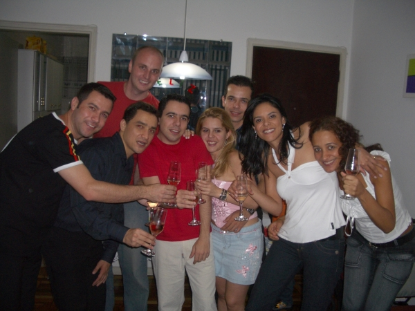 New friends for Christmas (Natal) and New Years (Reveillon) in Sao Paulo