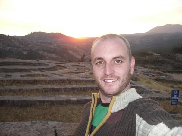 And behind me... the 'Sexy Woman' ruins near Cuzco, Peru